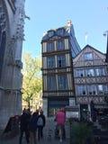 Rouen hus Fotografering för Bildbyråer