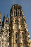 Rouen in Normandie Stockbild