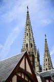 Rouen Normandie, Frankrike arkivfoto