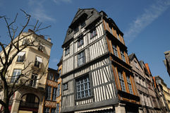 Rouen in Normandy Royalty Free Stock Images