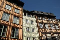 Rouen in Normandy Royalty Free Stock Photos