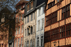 Rouen in Normandy Royalty Free Stock Photography