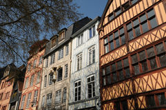 Rouen in Normandy Royalty Free Stock Photo