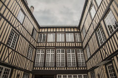 Rouen, Normandy - traditional houses. Stock Image