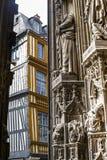 Rouen - Saint-Maclou square Stock Image