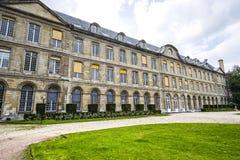 Rouen - yttersida av den forntida slotten Royaltyfria Foton