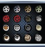 roues Photographie stock libre de droits