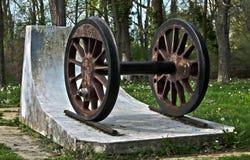 roues Image libre de droits