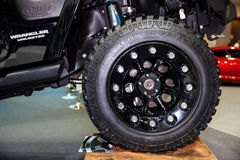 Roues d'alliage Photographie stock