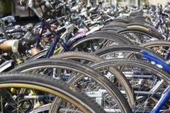 Roues de bicyclette Photo libre de droits