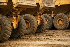 Roues de camion image stock