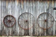 Roues de chariot Photo libre de droits