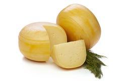 Roues de fromage Images libres de droits