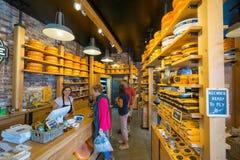 Roues de fromage Photographie stock libre de droits