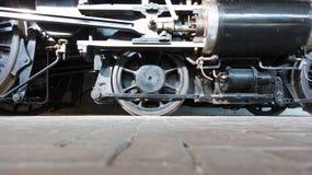 Roues de locomotive à vapeur ou roues de train de vapeur Photo stock
