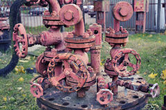 Roues de pipe Image libre de droits