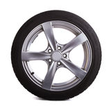 roues de sport de graphisme du véhicule 3d Images stock