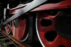 Roues de train Photo libre de droits