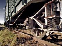 Roues de train Image stock