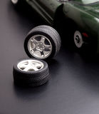 Roues de véhicule Photo stock