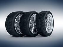 roues de véhicule Images libres de droits