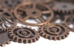Roues de vitesse en métal Photographie stock