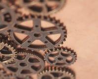 Roues de vitesses en métal Image libre de droits
