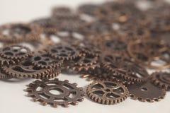 Roues de vitesses en métal Photo stock
