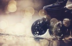 Roues des patins de rouleau photographie stock