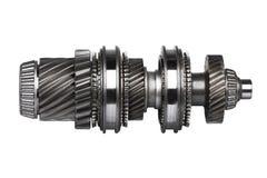 Roues en métal de vitesse Photographie stock libre de droits