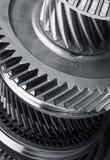 Roues en métal de vitesse Photo stock