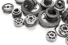 Roues en métal de vitesse Image stock