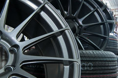 Roues et pneus Image libre de droits