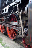 Roues locomotives photographie stock
