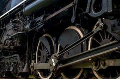 Roues locomotives Photo libre de droits