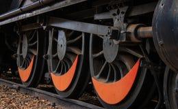 Roues locomotives Photos libres de droits