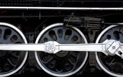 Roues locomotives Photo libre de droits