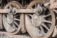 Roues locomotives Images libres de droits