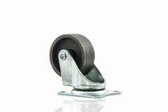 Roues roues en métal ou d'acier industrielles de roulette Images libres de droits