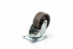 Roues roues en métal ou d'acier industrielles de roulette Image stock
