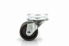 Roues roues en métal ou d'acier industrielles de roulette Image libre de droits