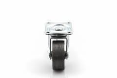 Roues roues en métal ou d'acier industrielles de roulette Photos stock