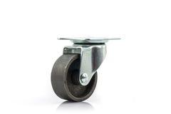 Roues roues en métal ou d'acier industrielles de roulette Photo stock