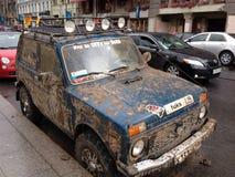 Roues russes de plouc Photos stock