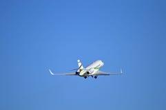 Roues sur petite Jet Plane Photographie stock