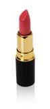 Rouge à lèvres rose foncé d'isolement sur le fond blanc image stock