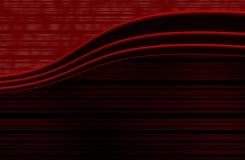 Rouge élégant Images stock