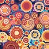 Rouge absolu de couleur Image libre de droits