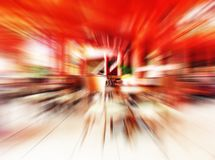 Rouge abstrait Photo libre de droits