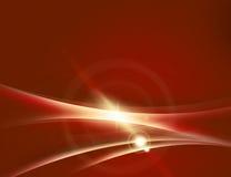 Rouge abstrait de fond Image libre de droits